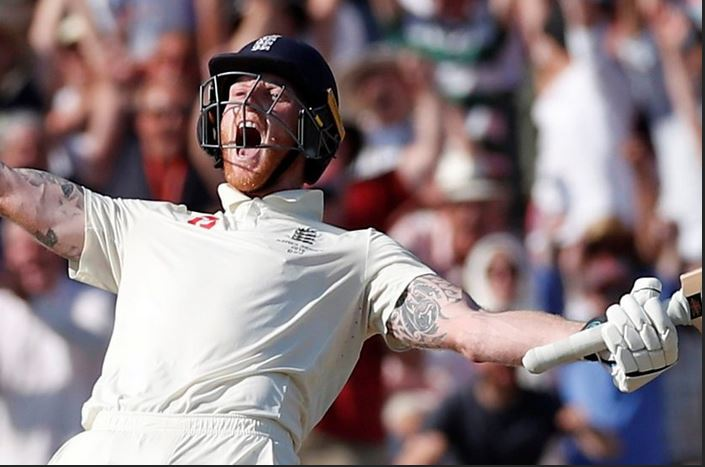 Watch the moment Stokes seals amazing win and keeps Ashes alive for England Captu554