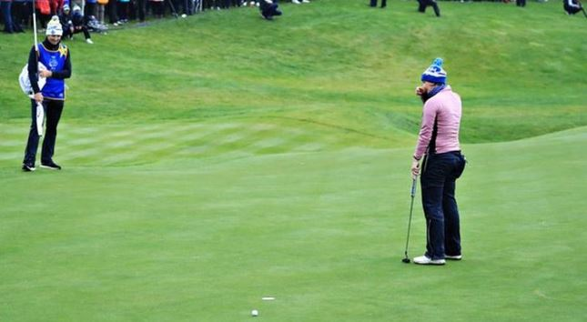 Solheim Cup 2019: Europe take slender 4½-3½ lead over United States after day one Captu665