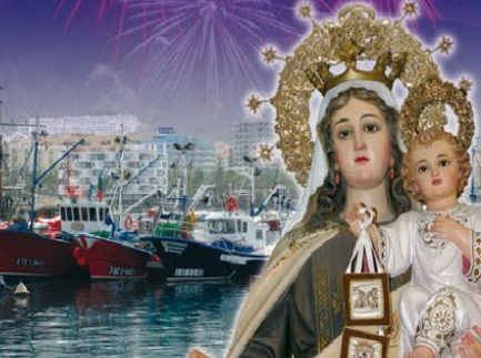 Embarkation of Los Cristianos' Virgen del Carmen fiesta Carmen11