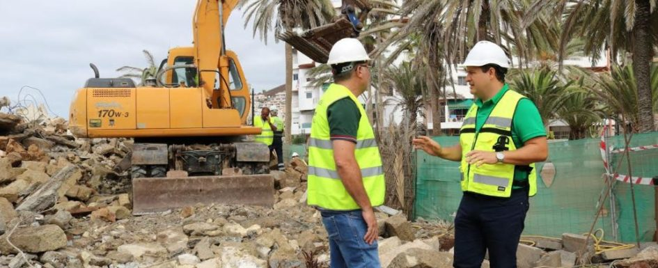 Arona finally demolishes Casa de los Bethencourt on Los Cristianos Paseo Marítimo Casabe10