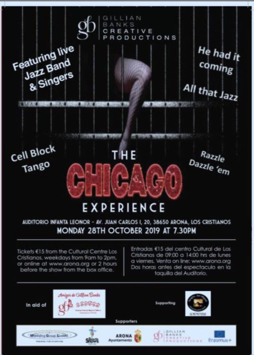 The Amigos de Gillian Banks charity puts on The Chicago Experience to raise funds for underprivileged children Chicag10