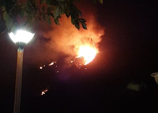 Firefighting continues for third night as blaze is at last contained Gcfire11