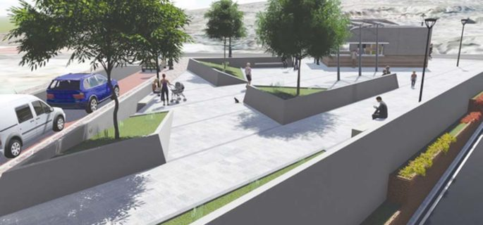 New modern plaza for centre of Arona  Page-710