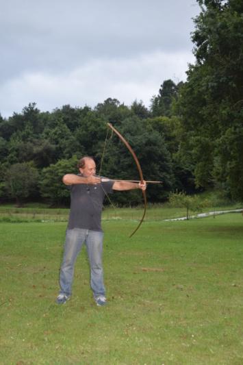 Curso de arcos y flechas con IURDE en Navajeda Dsc_0810