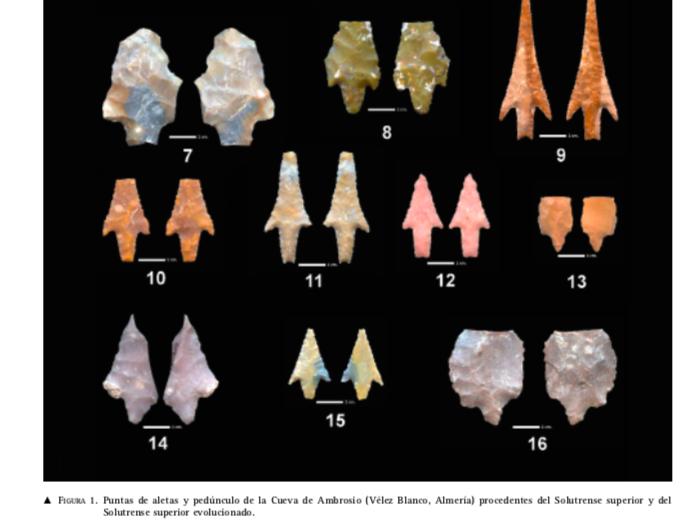 Evolución de las puntas de flecha líticas Captur17