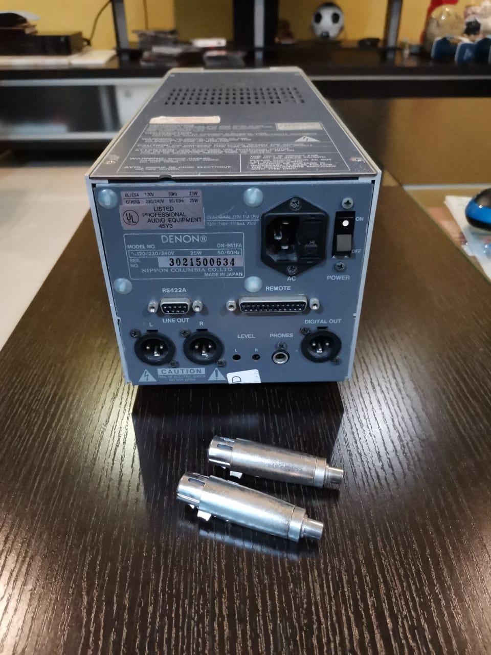 Denon DN-961FA Broadcasting studio CD Player (Sold) Denon_12