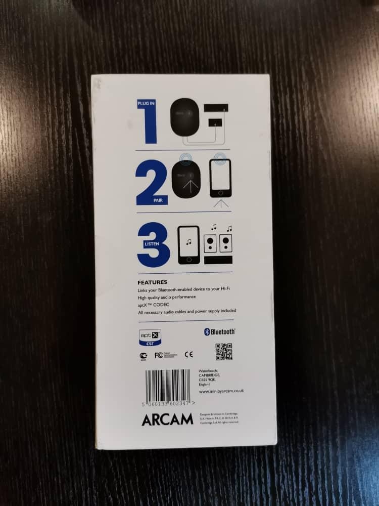 Arcam miniBlink Bluetooth DAC (Sold) Image050
