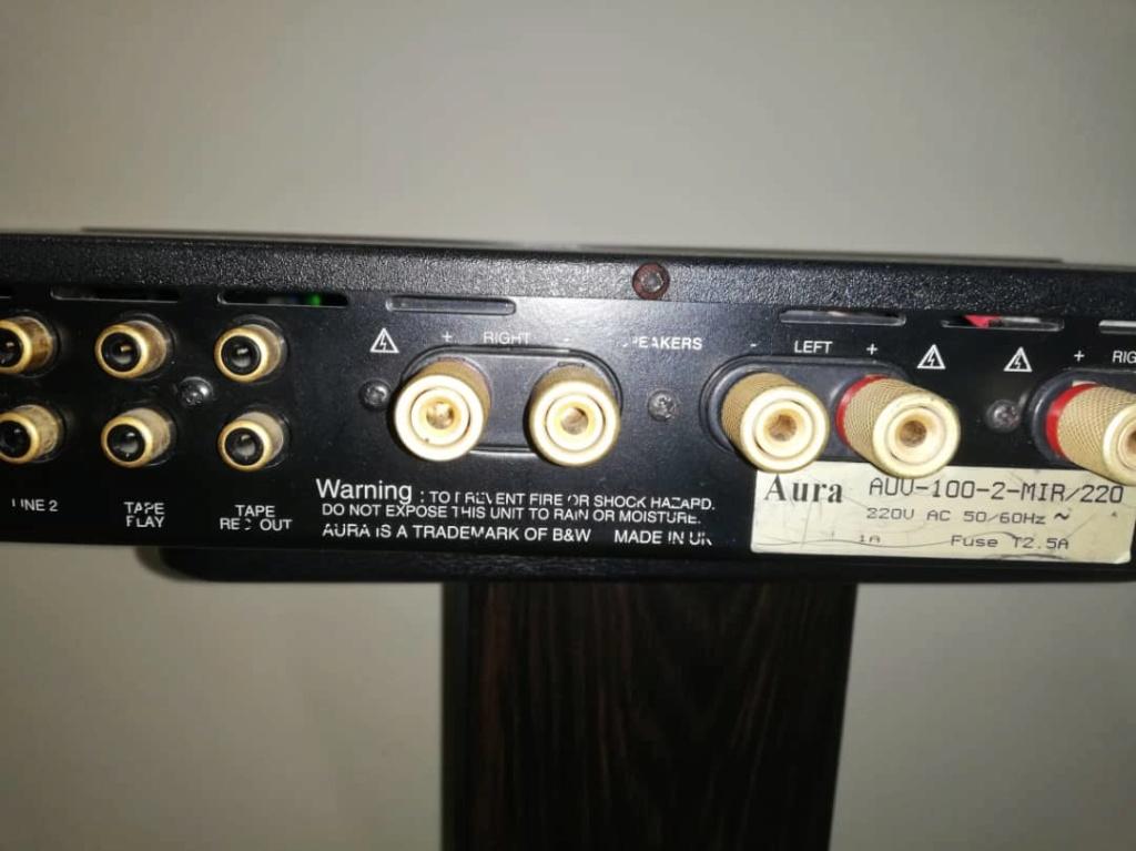 B&W Aura Evolution VA-100 MK II Integrated Amplifier Image415