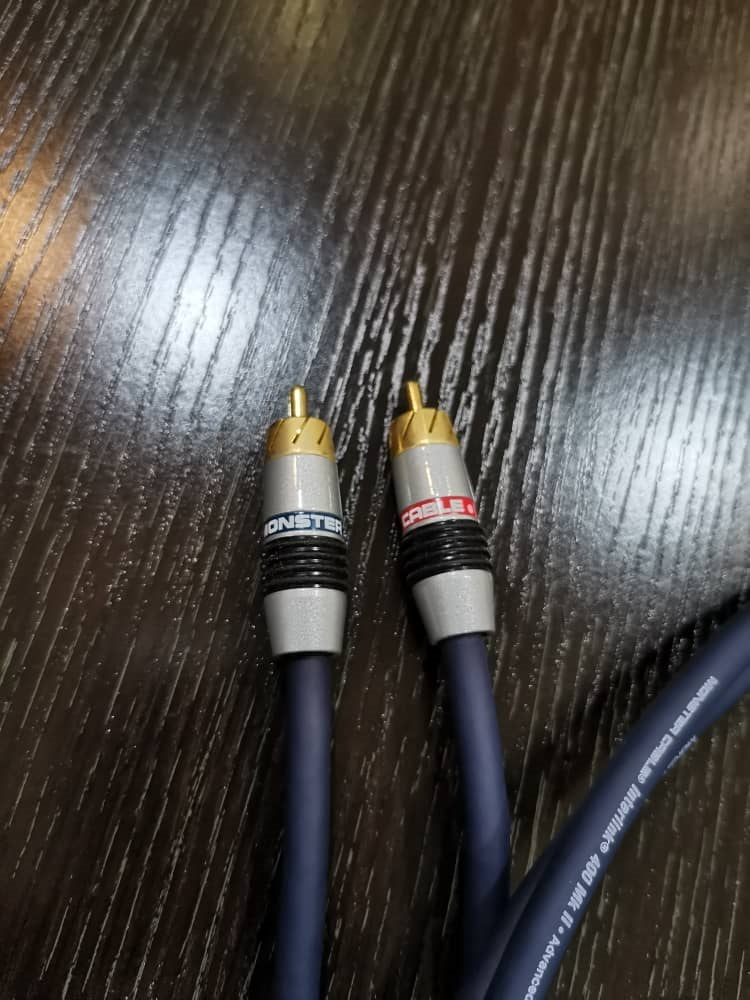 Monster Cable Interlink 400 MK II Interconnect Image530