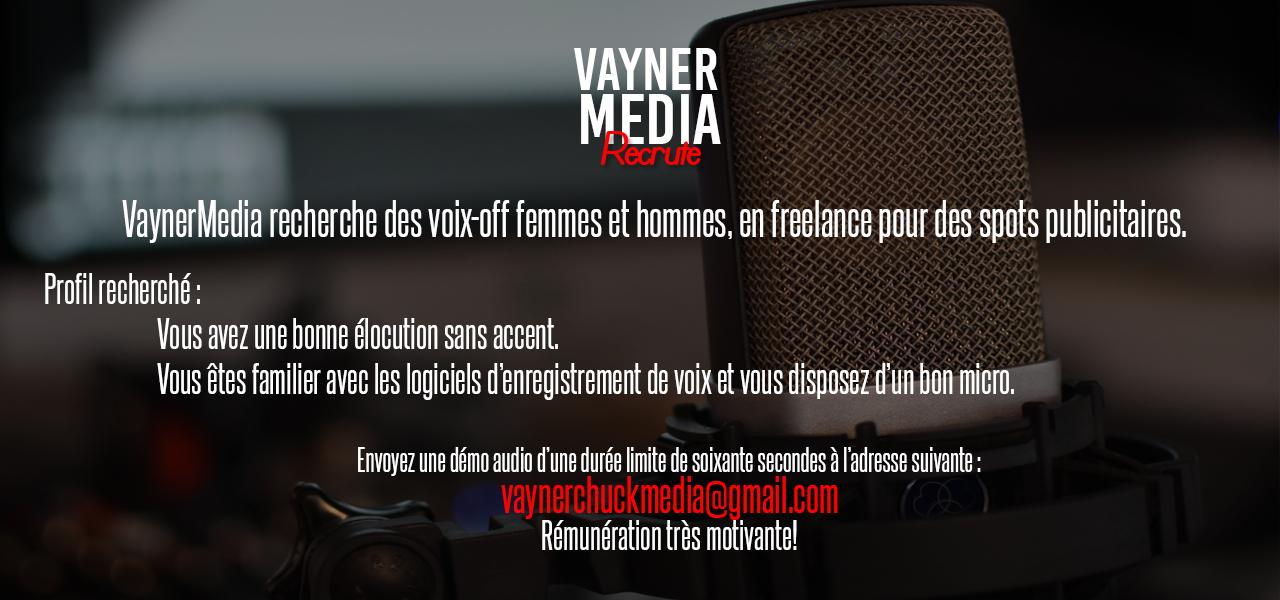 [Internet] Offre d'emploi VaynerMedia Vayner10
