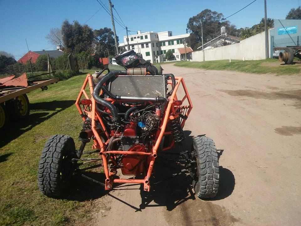 adaptacion de caja de caja a motor r12 Buggy_15