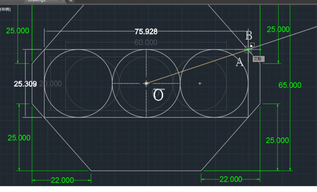 沒有標示圓半徑的題目 P00511