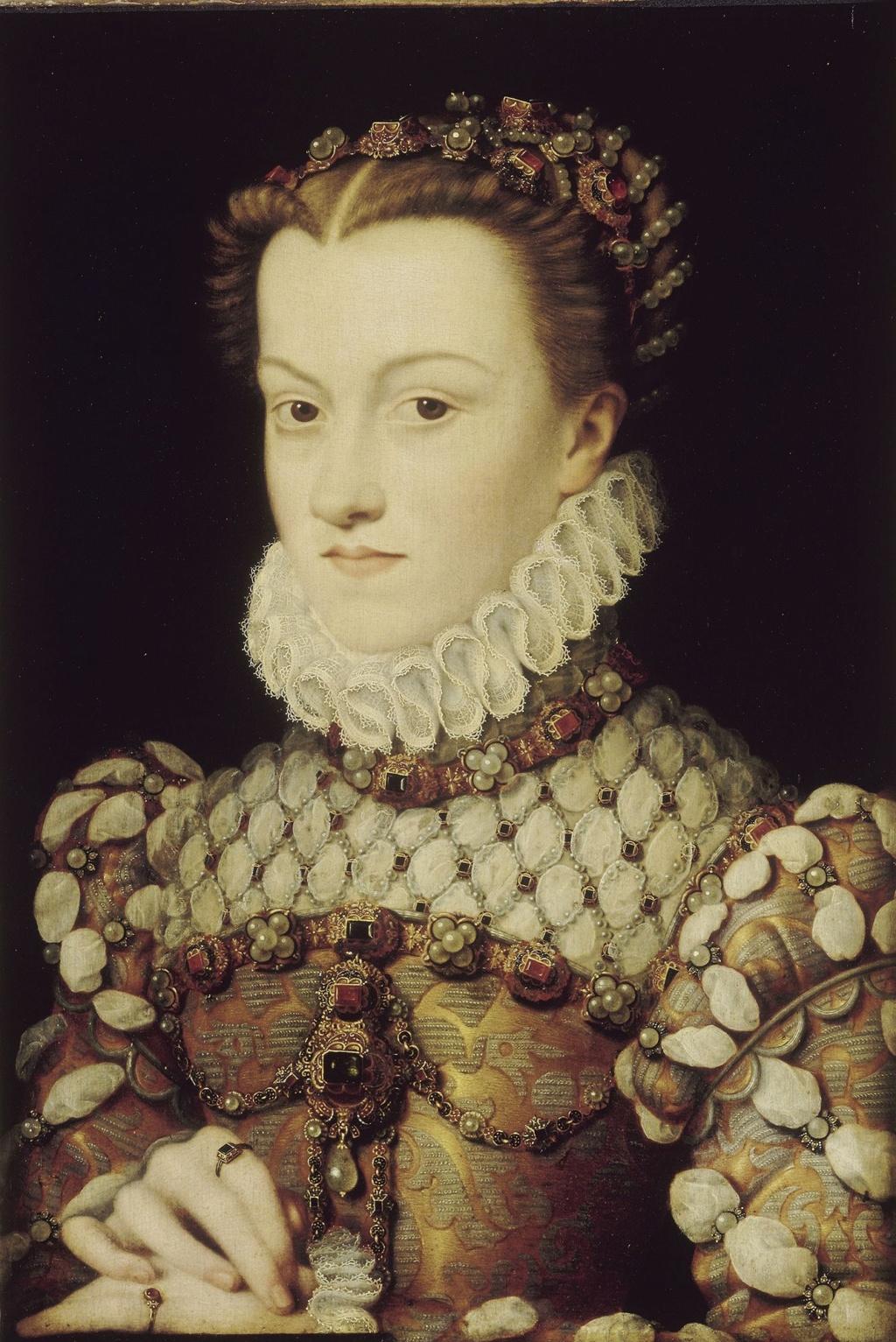 Elisabeth d'Autriche une autre reine de France venue d'Autriche F079-c10