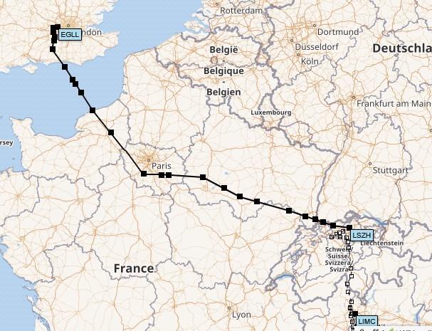 Résultat Tour d'Europe IFR 6ème étape 2019-123