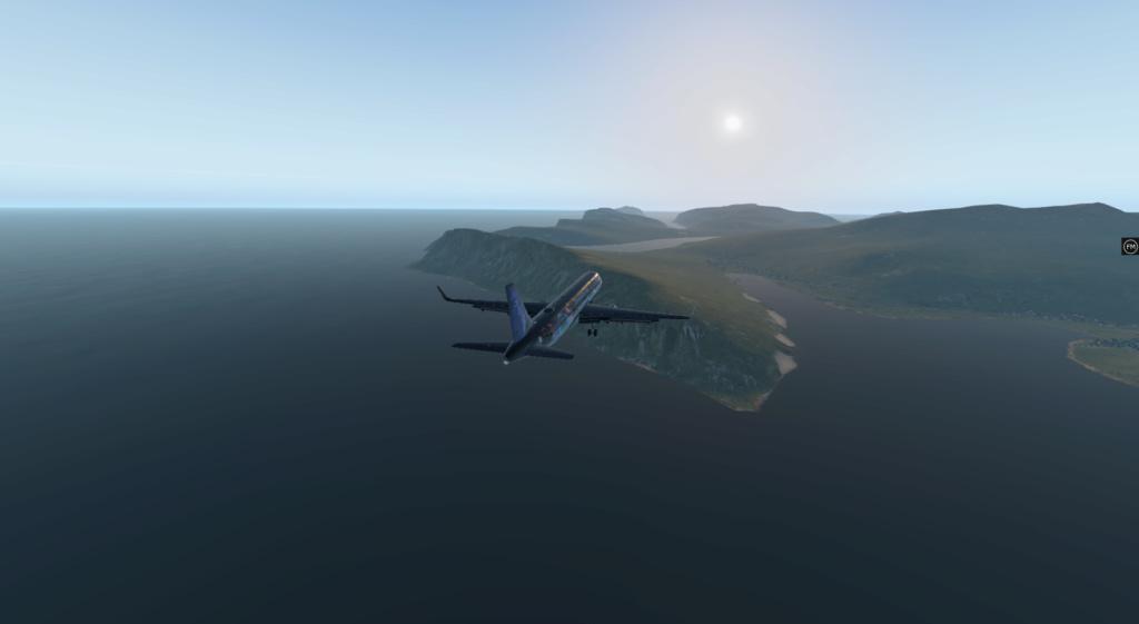 Vol de ce ven 12 juin : Edimbourg (EGPH) - Vagar (EKVG) aux Iles Féroé 321_810