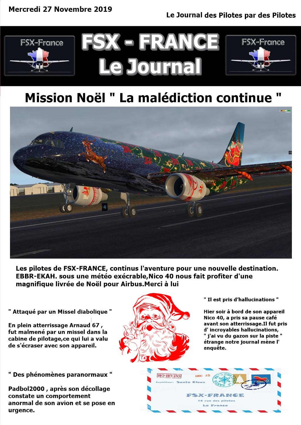 COMPTE RENDU deuxième étape EBBR-EKAH de cette mission Noël . Journa11