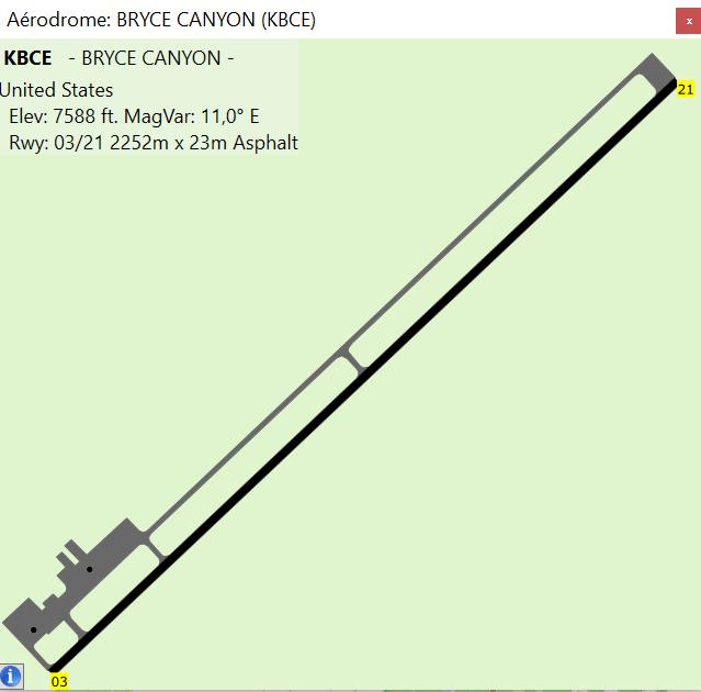 American tour parcours 2 étape 9 IFR VFR KBCE-KLAS Kbce10