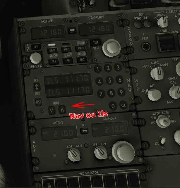 zibbo 737-800 x changer panel navigation Panel210