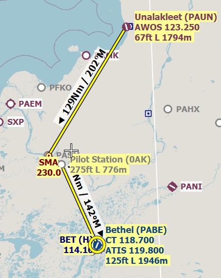 Mission 6 PAUN-0AK-PABE FSX-France Alaska compagnie 2 Vol_co16