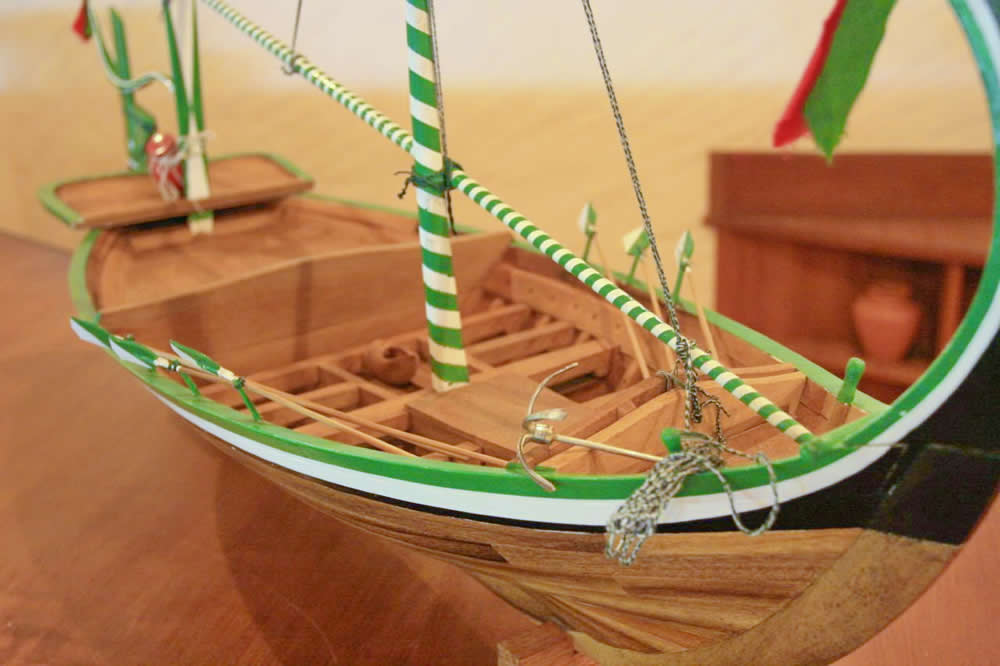 Dhoni - maldivski ribarski čamac Dhoni-10
