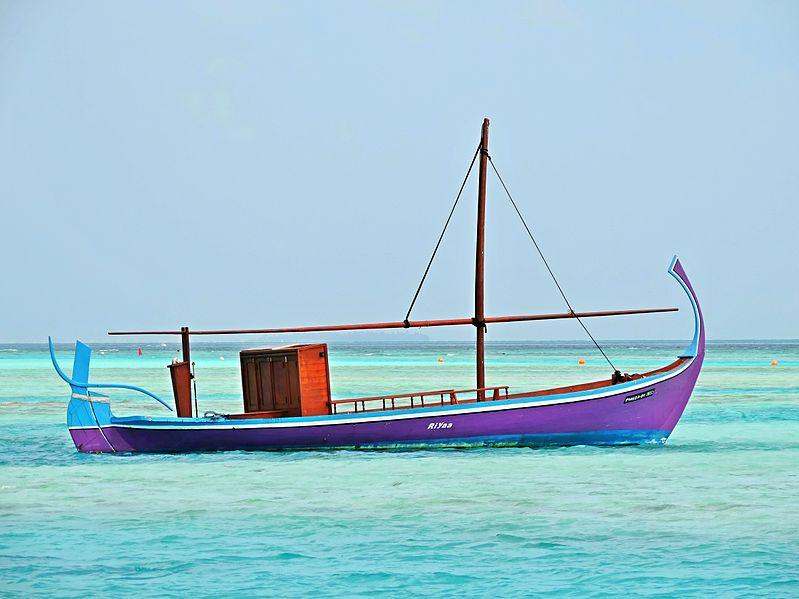 Dhoni - maldivski ribarski čamac Dhoni_11