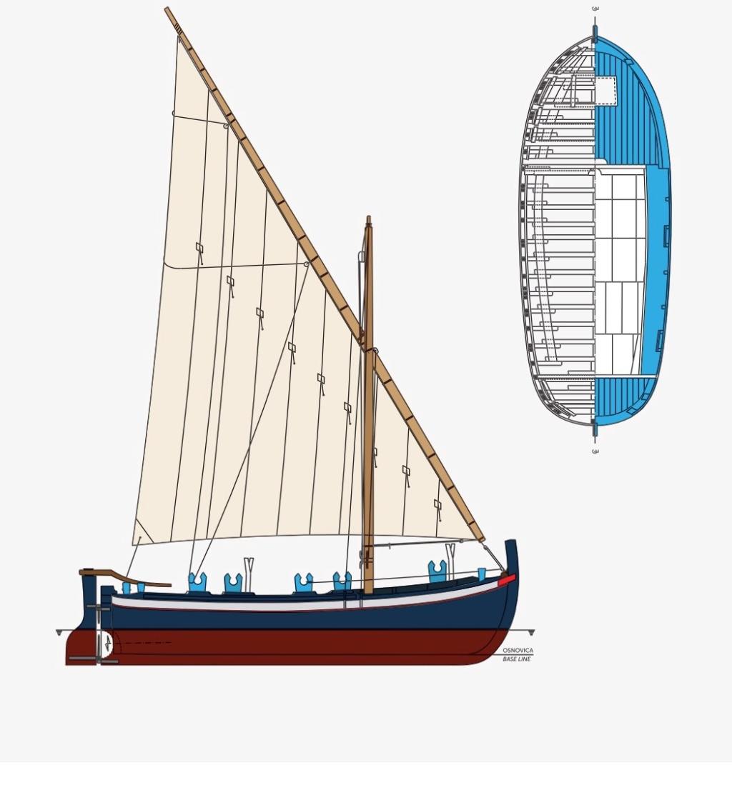 Trim brodica Gajeta16