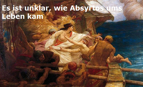 Absyrtos (Mythologie): Sohn des Aietes Absyrt10