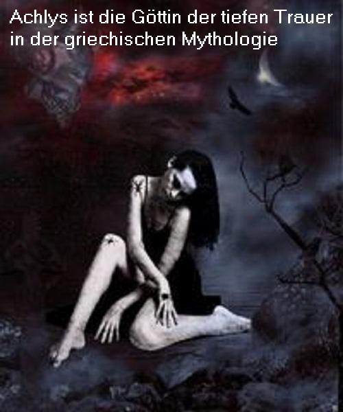 Achlys (Mythologie): Göttin der tiefen Trauer und der nächtlichen Dunkelheit Achlys10