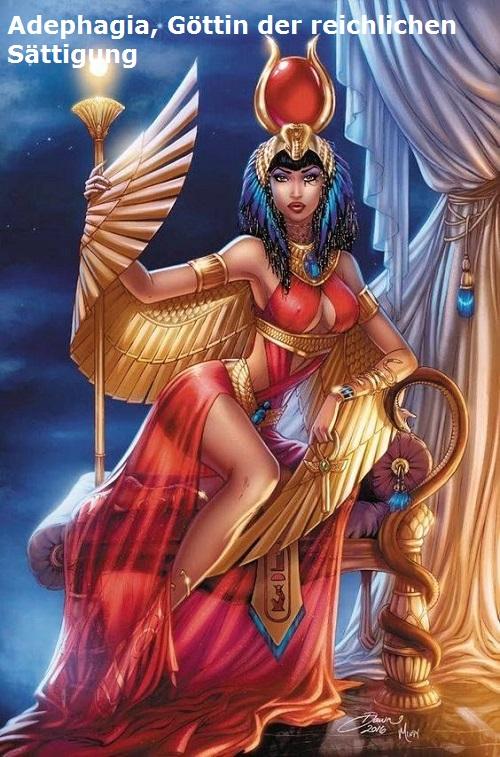 Adephagia (Mythologie): Göttin der reichlichen Sättigung Adepha10