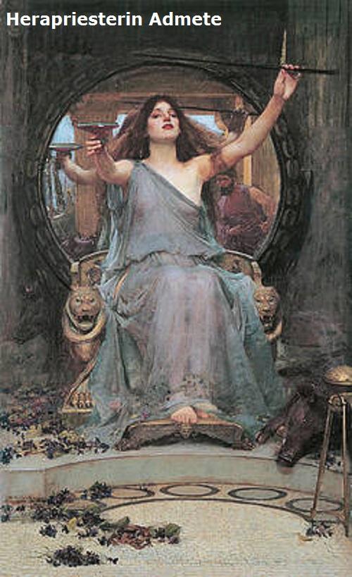 Admete (Mythologie): Herapriesterin Admete10