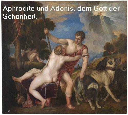 Adonis (Mythologie): Gott / Sinnbild der Schönheit Adonis10