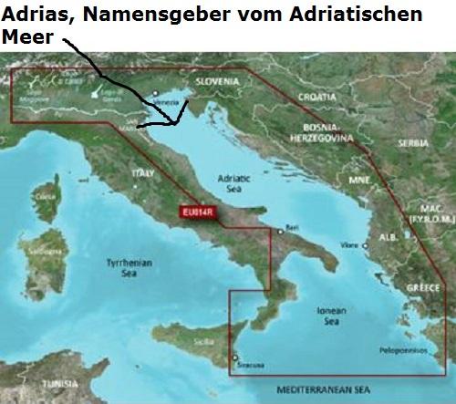 Adrias (Mythologie): Namensgeber vom Adriatischen Meer Adrias10