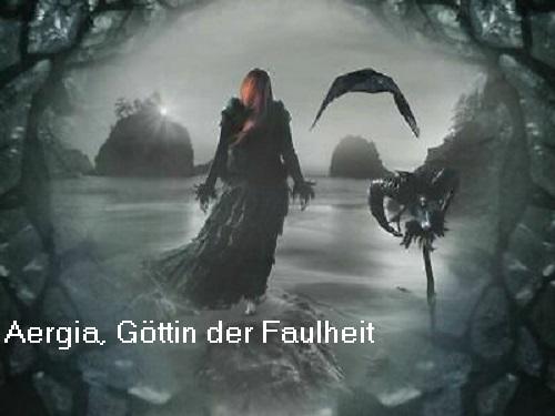 Aergia (Mythologie): Göttin der Faulheit Aergia10
