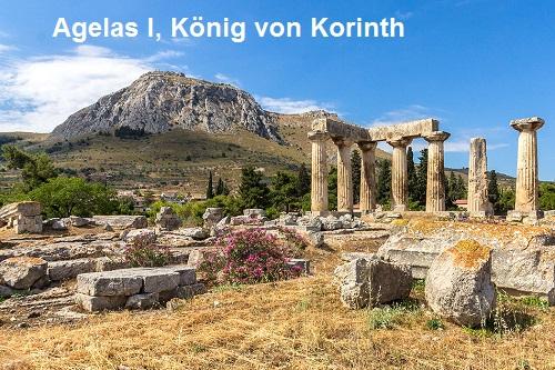 Agelas I (Mythologie): König von Korinth Agelas10