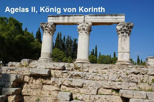 Agelas II (Mythologie): König von Korinth Agelas11