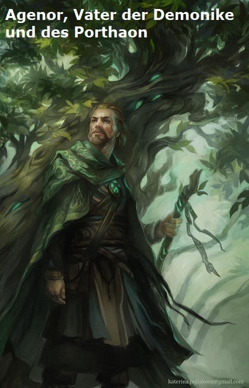 Agenor (Mythologie): Vater des Porthaon und der Demonike Agenor11