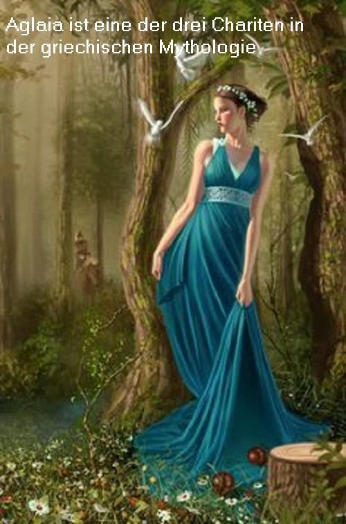 Aglaia (Mythologie): Es handelt sich um eine den Chariten angehörige Untergöttin Aglaia11