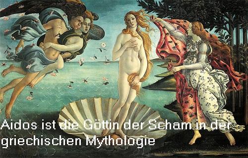 Aidos (Mythologie): Göttin vom Scham Aidos10