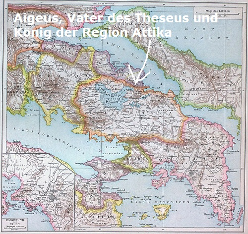 Aigeus (Mythologie): Vater des Theseus, König von Attika Aigeus10