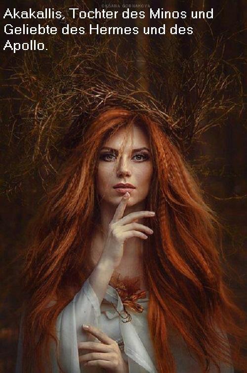 Akakallis (Mythologie): Tochter des Minos Akakal10
