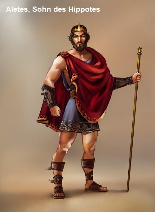 Aletes (Mythologie): Sohn des Hippotes Aleste10