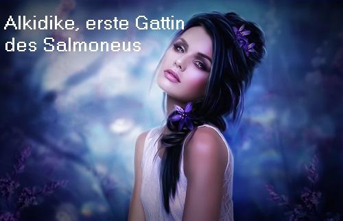 Alkidike (Mythologie): Erste Gattin des Salmoneus Alkidi10