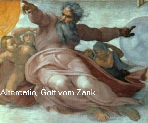 Altercatio und Eris (Mythologie): Gottheiten vom Zank Alterc10