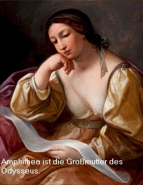 Amphithea (Mythologie): Als Gattin des Autolykos die Großmutter vom Heros Odysseus Amphit11