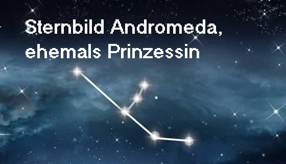 Andromeda, Tochter des Kepheus (Cepheus) und der Cassiopeia (Kassiopeia) Androm10