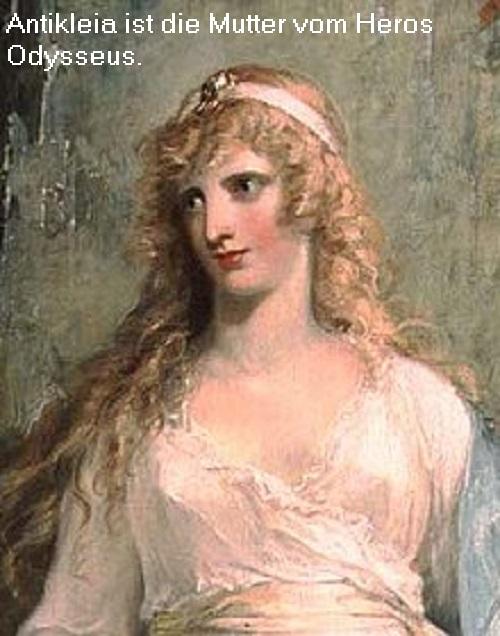 Antikleia (Mythologie): Mutter des Odysseus und Gemahlin des Laertes Antikl10