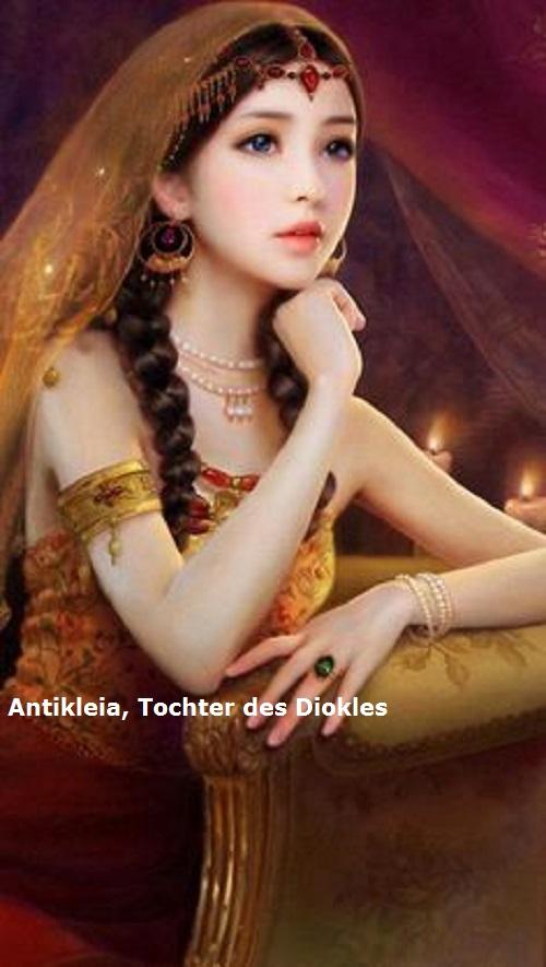 Antikleia (Mythologie): Tochter des Diokles und Gemahlin des Machaon Antikl11