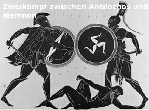 Antilochos (Mythologie): Sohn des Nestor, von Memnon getötet Antilo10