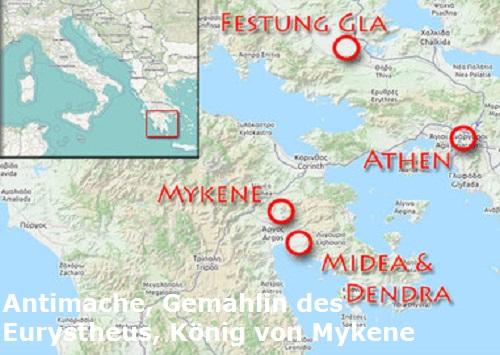 Antimache (auch Admete, Mythologie): Gemahlin des Eurystheus Antima10