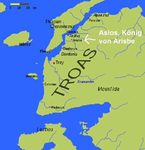 Asios (Mythologie): König von Arisbe Asios10